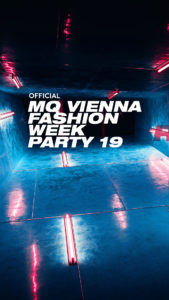 VIENNA FASHION FESTIVAL 2019 © MQ VIENNA FASHION WEEK PARTY 19